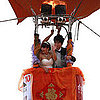 Hot-Air Balloon Wedding in China Pictures