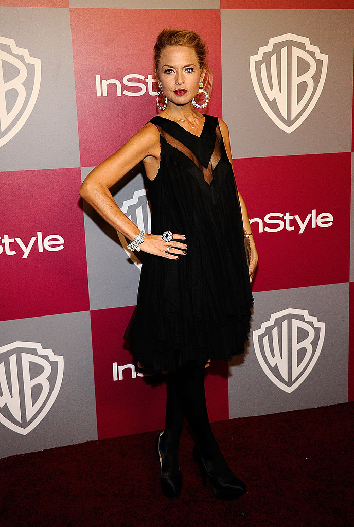 January 2011: InStyle/Warner Brothers Golden Globes Party