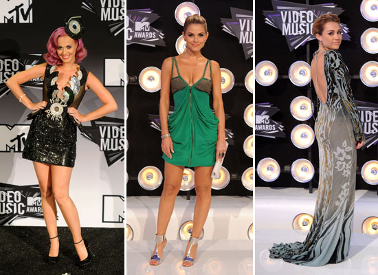 2011 MTV Video Music Awards: Celebrity Fashion Roundup!