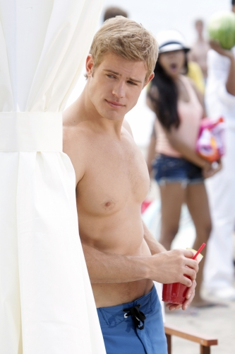 Trevor Donovan as Teddy on 90210.  Photo courtesy of The CW