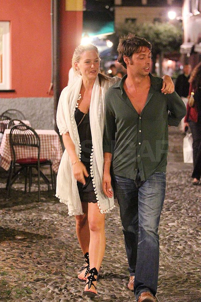 Bar Refaeli put her arm around a new guy.