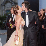 Elsa Pataky and Adrien Brody smooched at the 2007 screening of The Darjeeling Limited.