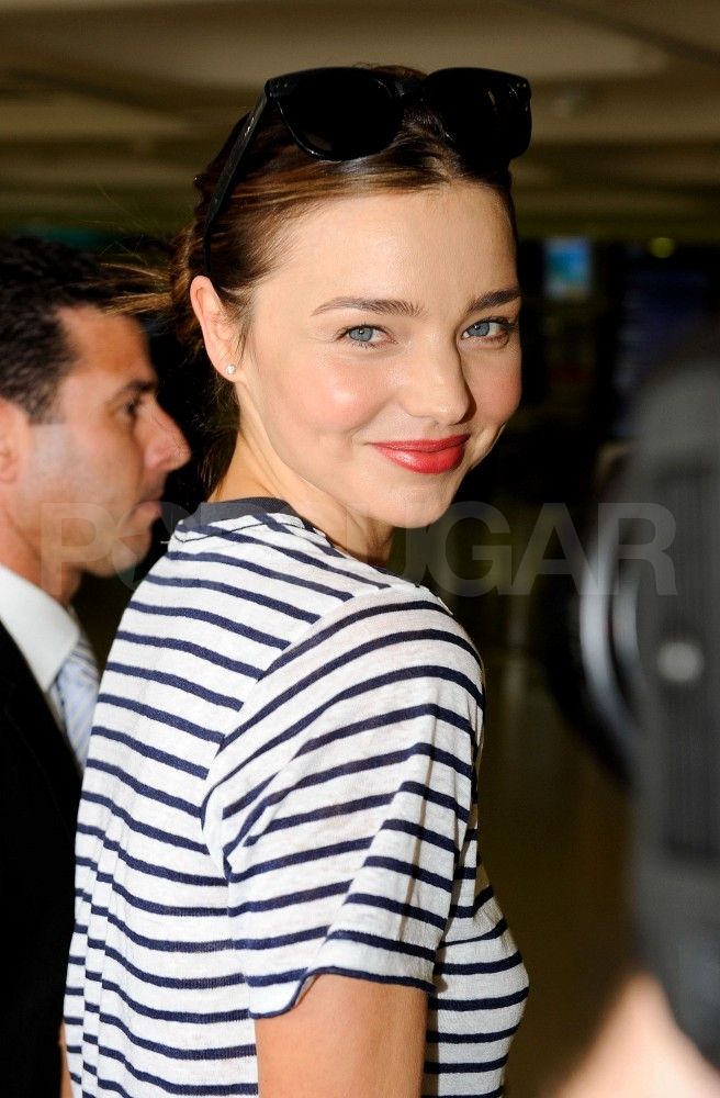 Miranda Kerr heads out.