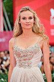Diane Kruger wore a bejeweled Elie Saab.