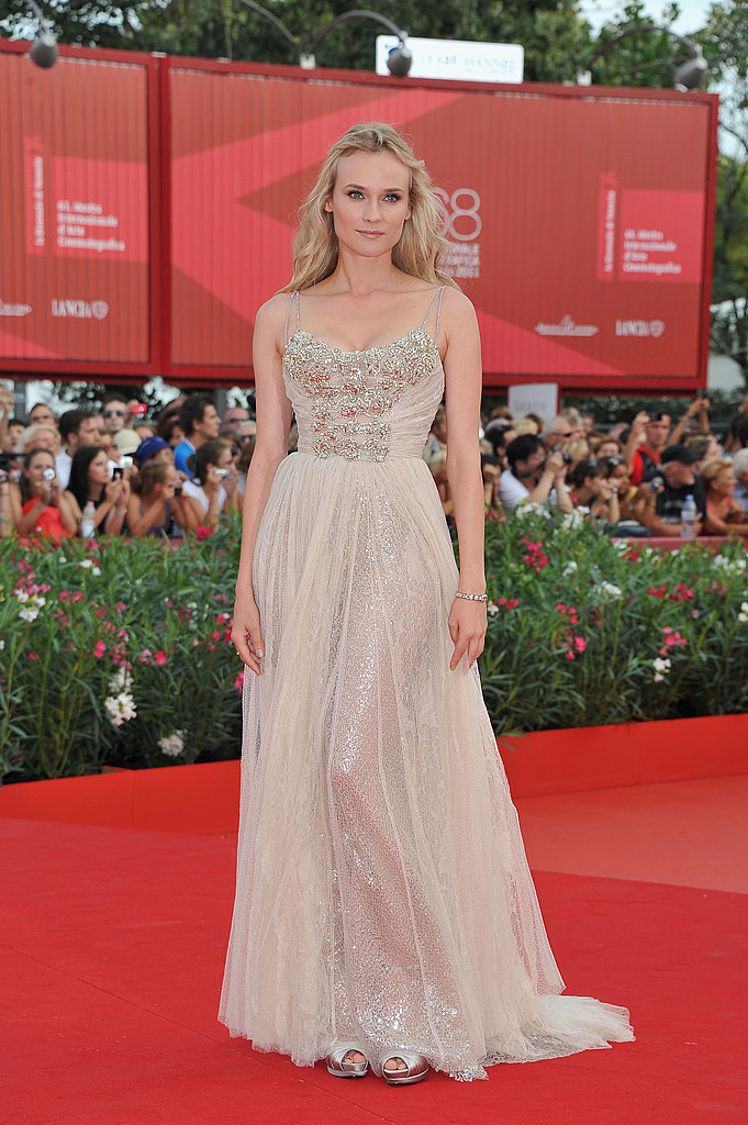 Diane Kruger at the 2011 Venice Film Festival.