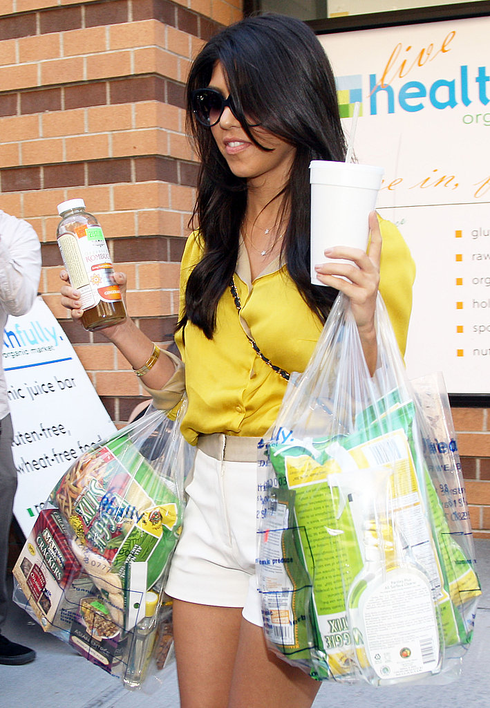 Kourtney Kardashian in NYC for Kourtney and Kim Take NY.