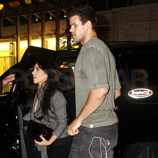 Just married Kim Kardashian and Kris Humphries together in NYC.