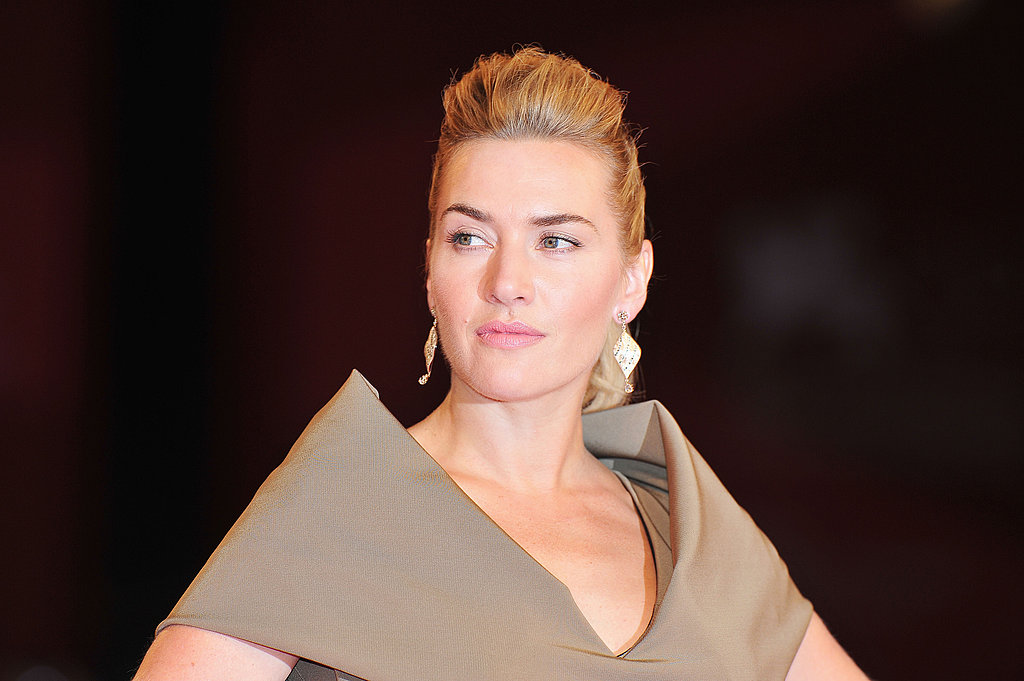 Kate Winslet struck a pose.