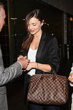 Miranda Kerr at the airport in Mexico City.