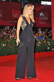 Bar Refaeli Shows Off Her Sexy Backside in a Pantsuit at the Venice Film Festival