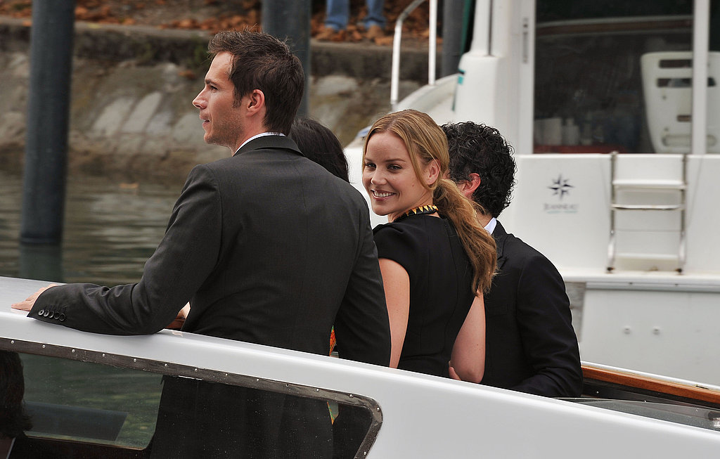 Abbie Cornish smiled.