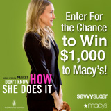SavvySugar Giveaway: Win $1,000 to Macys