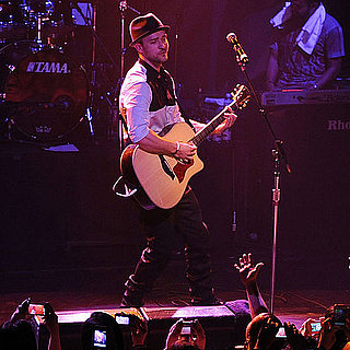 Justin Timberlake Pictures Performing in NYC
