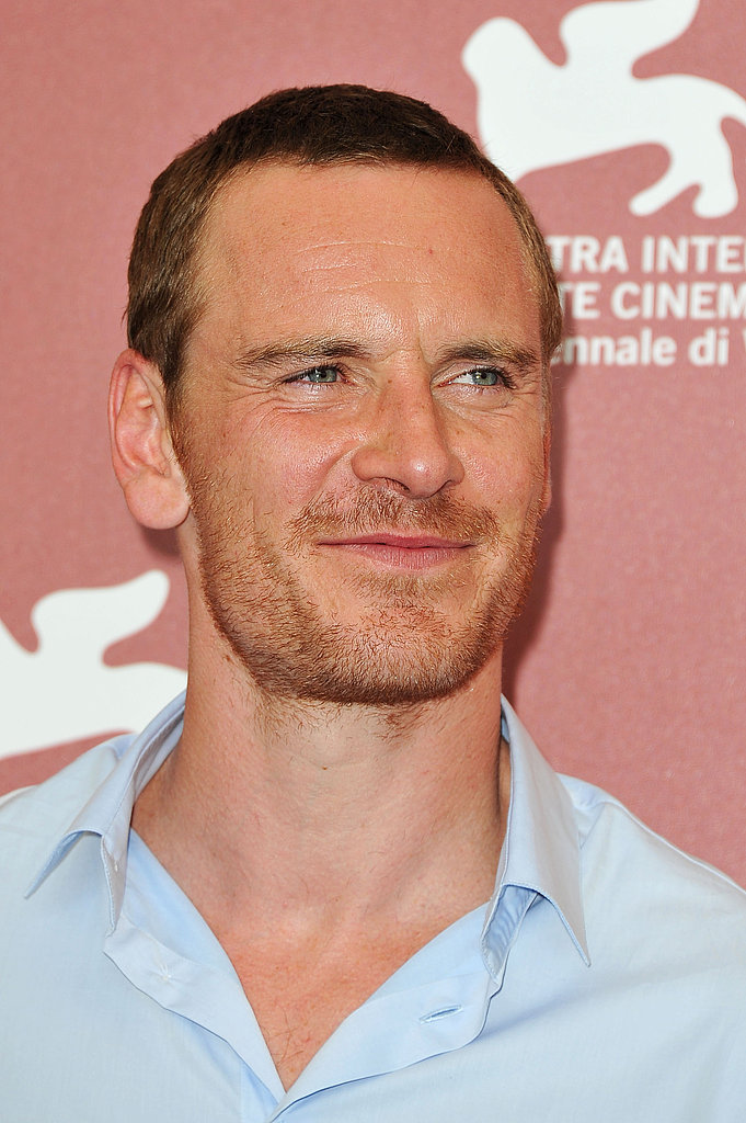 Michael Fassbender looks hot at the Venice Film Festival.