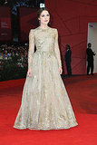 Keira Knightley at the Venice premiere of A Dangerous Method.