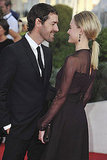 Kate Bosworth and Michael Polish only had eyes for each other at the Deauville Film Festival.