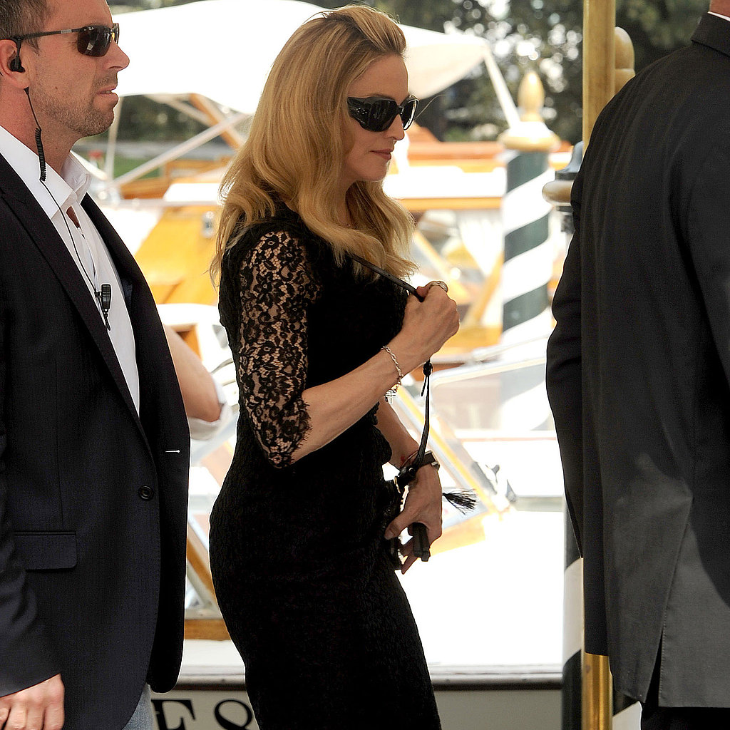 Madonna in Venice for her movie W.E.