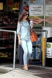 Pippa Middleton goes to the grocery store.