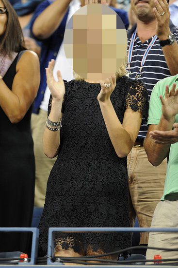 Guess Which Celebrity Was Cheering at the US Open