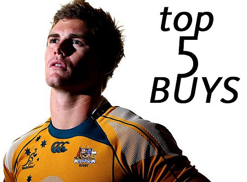 Wallabies Star Berrick Barnes Shares His Top 5 Grooming Products