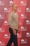 Matt Damon at a Contagion photo call in Venice.