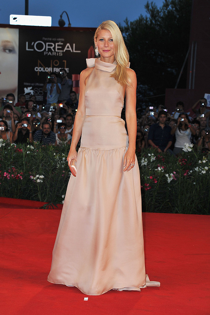 Gwyneth Paltrow wears Prada at the Venice Film Festival.