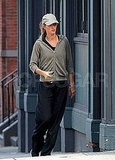 Gisele Bundchen heads to her gym.