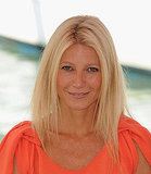Blond Gwyneth Paltrow in Venice.