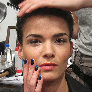 Jen Kao Spring 2012: Backstage Beauty