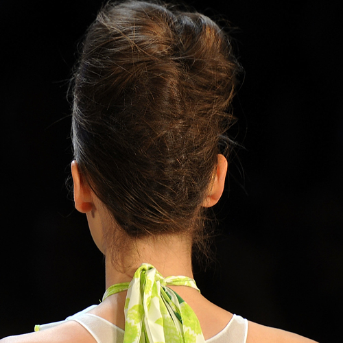 The Untidy Updos at Diane von Furstenberg