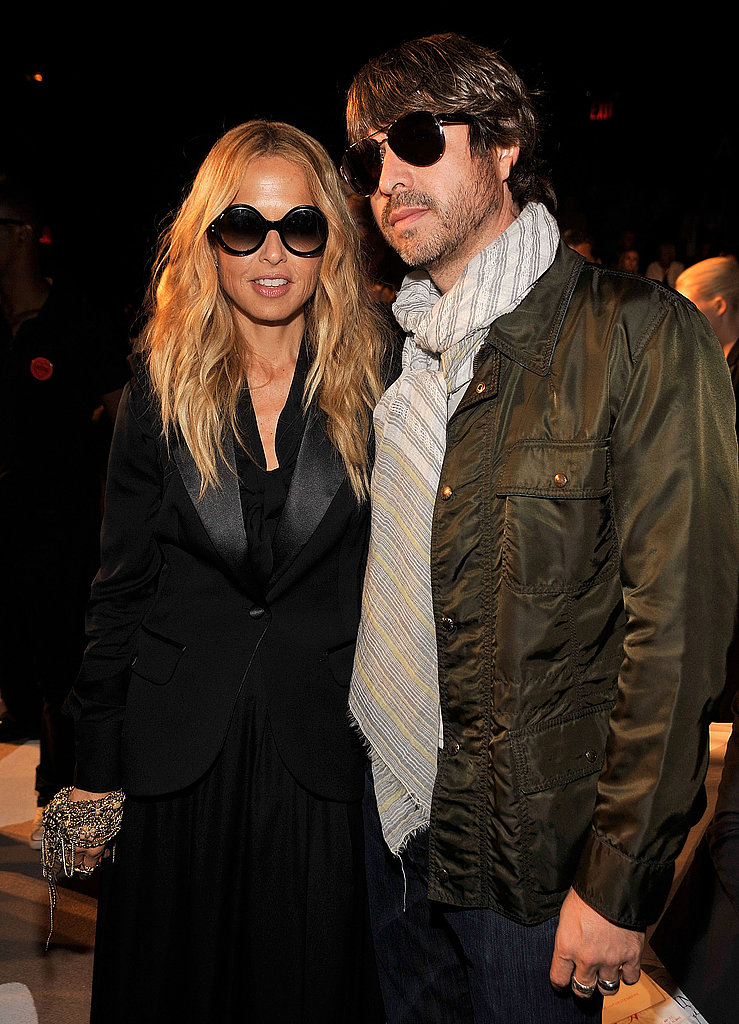 Rachel Zoe with husband, Rodger Berman.