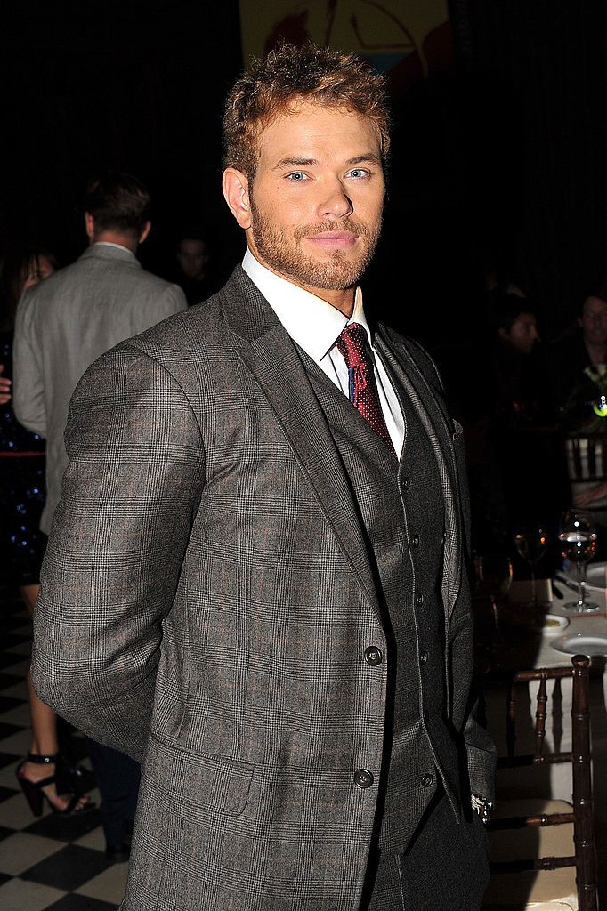 Kellan Lutz during Fashion Week.