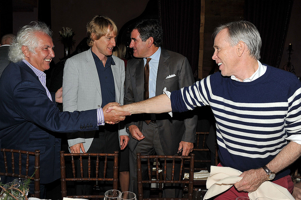 Owen Wilson and Tommy Hilfiger party in NYC.