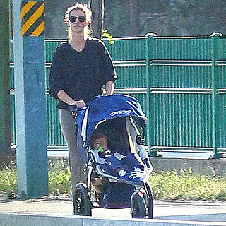 Gisele Bundchen Pictures in Boston With Son Benjamin Brady
