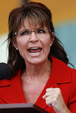 Sarah Palin gives a campaign-like speech.