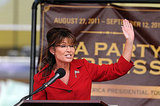 Sarah Palin rallies supporter in New Hampshire.