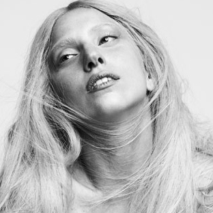 Lady Gaga Without Makeup in Harper's BAZAAR