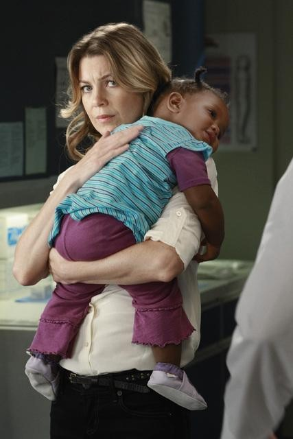 Ellen Pompeo as Dr. Meredith Grey on Grey's Anatomy.  Photo copyright 2011 ABC, Inc.