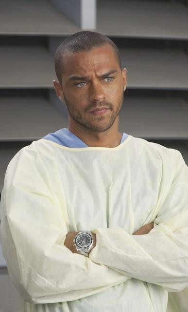 Jesse Williams as Dr. Jackson Avery on Grey's Anatomy.  Photo copyright 2011 ABC, Inc.