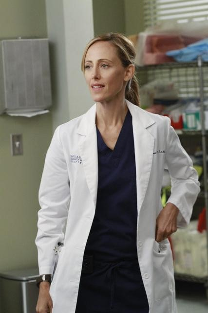 Kim Raver as Dr. Teddy Altman on Grey's Anatomy.  Photo copyright 2011 ABC, Inc.