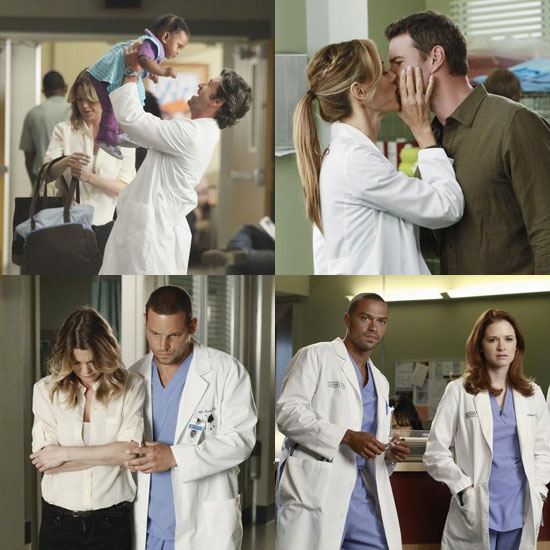 Grey's Anatomy Season 8 Sneak Peek: Babies and PDA