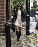 Pippa Middleton in London on her birthday.