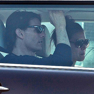 Katie Holmes and Tom Cruise Leave a Dance Studio Pictures