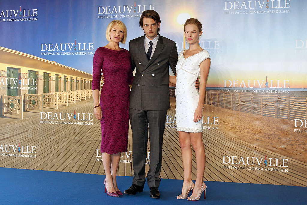 Ellen Barkin, Sam Levinson, and Kate Bosworth at the premiere of Another Happy Day.