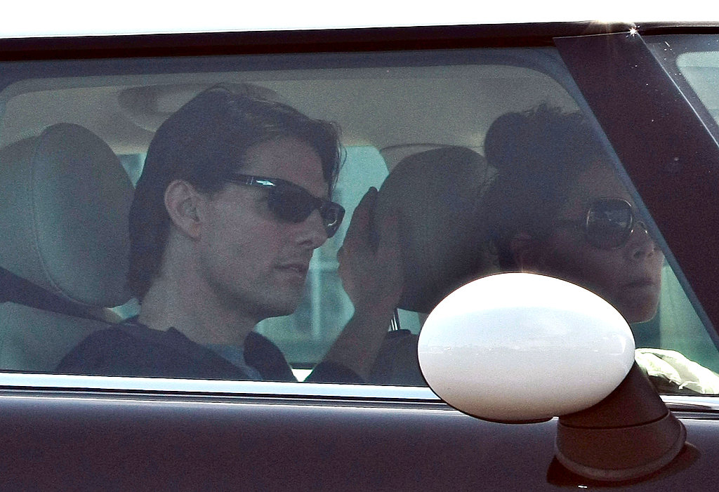 Katie Holmes Takes Tom for a Cruise Around LA