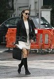 Pippa Middleton walks to work.