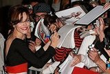 Rachel McAdams signed dozens of autographs at her 2007 world premiere of Married Life.