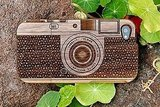 Wood Camera iPhone 4 Case ($42)