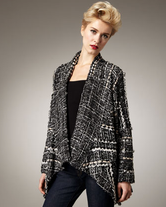 Indikka Loose Tweed Jacket ($225)