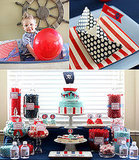 Nautical Pirate Birthday Party